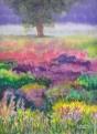 Lavender Field, 9x12, $210