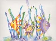 Glass Fish, 12 x 9, $210